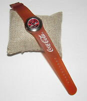 Vintage Coca Cola Watch Coke Bottle Second Hand Red Silicone Band
