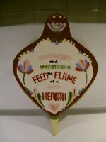 Vintage Cleminson California Pottery Bellows Wall pocketHappy Hearth