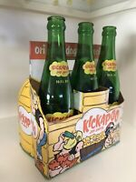 Li'l Abner Kickapoo Joy Juice Original six pack container with 3 bottles.