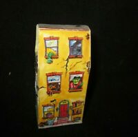 Fleer quot;Haunted House Empty Candy Box Container Onlyquot; Halloween Monster 1980s