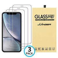 3X Tempered Glass Screen Protector Cover For iPhone 12 11 Pro Max X XS XR 8 7 6 $3.75