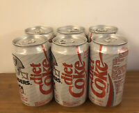 DIET COCA COLA 6 Pack Cans 1993 NFL Collector Series OAKLAND RAIDERS