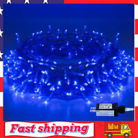 Halloween String Lights 220 LED 82ft 8 Modes End to End Plug in Indoor Outdor