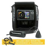 Fish Finder Chartplotter All Season Pack Ice Helix G2 5 CHIRP GPS 5quot; Fish