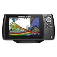 Helix G3N 7 MEGA DI 7quot; Fish Finder Chartplotter w Basemap w o Transducer
