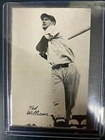 1947 Bond Bread Baseball Card Ted Williams Red Sox NM Free Shipping