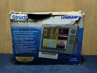 Lowrance Structure Scan Sonar Imaging System With Transducer