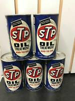 1970#x27;S VINTAGE 15 OZ STP OIL TREATMENT CAN PULL TAB GARAGE MAN CAVE GAS AD CANS