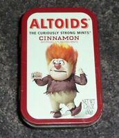 ALTOIDS Limited Edition HEAT MISER From quot;Year Without A Santa Clausquot; Empty Tin