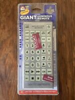 GIANT JUMBO UNIVERSAL REMOTE TV VCR DVD CABLE CONTROL novelty huge television $11.96