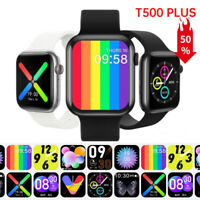 Smart Watch T500 Plus for iPhone iOS Android Phone Bluetooth Fitness Tracker $22.99