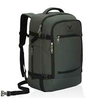 40L Travel Backpack Flight Approved Carry on Suitcase Luggage Bag Grey