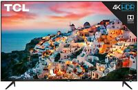 TCL 65quot; 5 Series 4K UHD Dolby Vision HDR Roku Smart TV 4 HDMI 65S525 $549.80