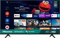 Hisense 43A6G A6 Series 43quot; 4K UHD Android Smart TV 4 HDMI 2021 $299.99