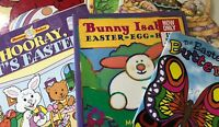 Lot of 5 Easter Books Clifford Buffferfly Easter Bunny $6.99