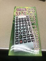 GIANT JUMBO UNIVERSAL REMOTE TV VCR DVD CABLE CONTROL novelty huge television $15.00