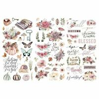 Prima Hello Pink Autumn Collection Rub Ons 654467