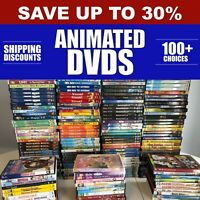 DISNEY amp; ANIMATED DVDs Pick Your Own **Combined Shipping amp; Deep Discounts** $1.60