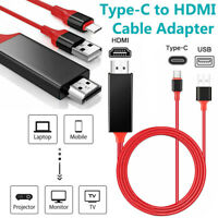 Cable Apater USB Type C Phone to HDMI TV AV HDTV 1080P For Android LG Universal $9.99