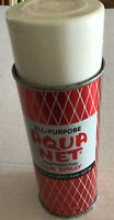 Vintage AQUA NET Hair Spray by Fabrege Red Can