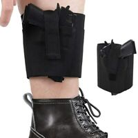 Universal Pistol Ankle Holster Concealed Carry for Revolver Taurus P38 Ruger LCP