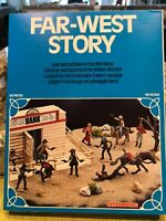 ATLANTIC LAW AND OUTLAWS SET 1561 THE RARE STORY BOOK BOX IN MINT CONDITION HO
