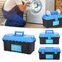 Portable Tool Box Hardware Tools Storage Case Double Layer Electricia Suitcase