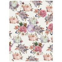 Good Vibes Hello Pink Autumn Rice Paper Prima Decoupage Paper Fall