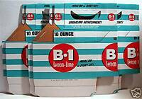6 Soda B-1 Carton 1950 Bottle 6 Pack Carrier Old Stock