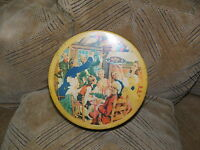 Collectible Vintage Bond Cookie Tin Can 7.5