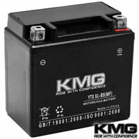 12V Battery KMG Motorcycle Scooter ATV Snowmobile Mowers PWC Watercraft YTX5L-BS