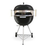KettlePizza Basic - Wood Fired Pizza Oven Kit for 18.5 and 22.5 inch Grill