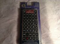 Brand New Universal Jumbo Remote Control NIB Controls Up to 8 Devices L204800103 $18.67