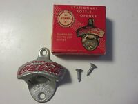 NIB NOS NEW IN BOX Vintage Coca-Cola Stationary (Wall-Mounted) Bottle Opener