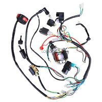 50/70/110/125CC WIRE HARNESS WIRING CDI ASSEMBLY ATV QUAD COOLSTER