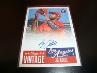 Jo Adell Los Angeles Angels Certified Autograph auto 2019 Onyx Vintage card