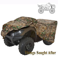 CAMO ATV STORAGE COVER for LARGE 4-Wheeler Quad Sport Utility Dust Realtree Xtra