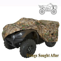 DELUXE CAMO ATV TRAVEL & STORAGE COVER for LARGE 4-Wheeler Trailerable Realtree