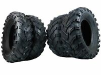 New 4 Set of MASSFX MS Claw 25x10-12 Rear 25x8-12 Front ATV Tires Bear 6ply K299