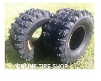 NEW HONDA TRX 250R ( 86-89 ) PAIR (2) 20x10-9 AMBUSH SPORT ATV TIRES - REAR