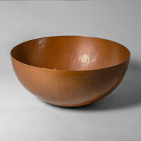 New Hand Hammered Paul Revere Pottery Style Copper Bowl 15quot; Size Free Shipping