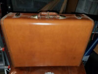 Vintage Samsonite Luggage Beige