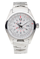 Abingdon Co. Watch - Amelia in Cloud White with Stainless Steel Band