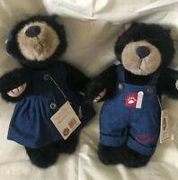 Boyds Bears Shindig & Momma Shindig Bubba! BBC Pigeon Forge Exclusive! Signed!