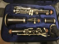 BUFFET Crampon R13 Bb Pro Clarinet w. Silver plated keys: Case Included, Used