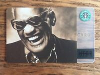 RARE! Starbucks 2004 Original RAY CHARLES Special Hear Music Card