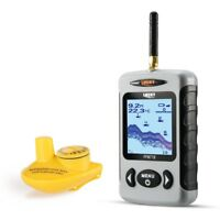 Wireless Fish Finder Sonar 120M Range 45M Depth River Lake Sea Carp fish Feat.