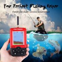 Outlife Ourdoor Portable Fishing Finder with Wireless Sonar Sensor LCD Display