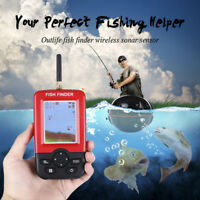 Portable Smart Fish Finder Sonar Sensor Depth Finder Color Backlight Fishfinder