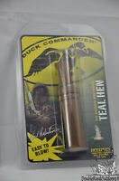 Duck Commander Calls TEAL HEN Double Reed Poly Call